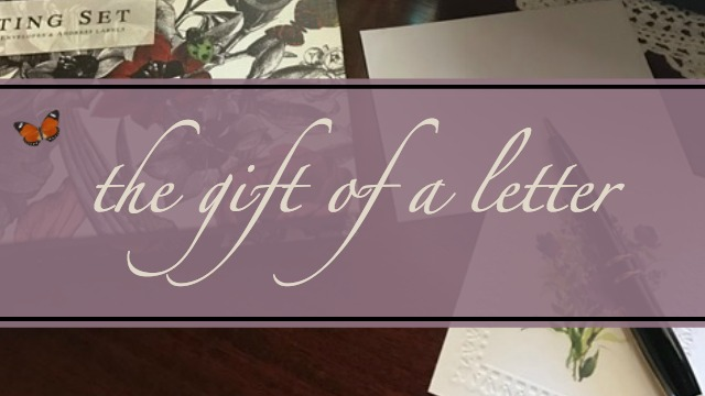 The Gift of a Letter
