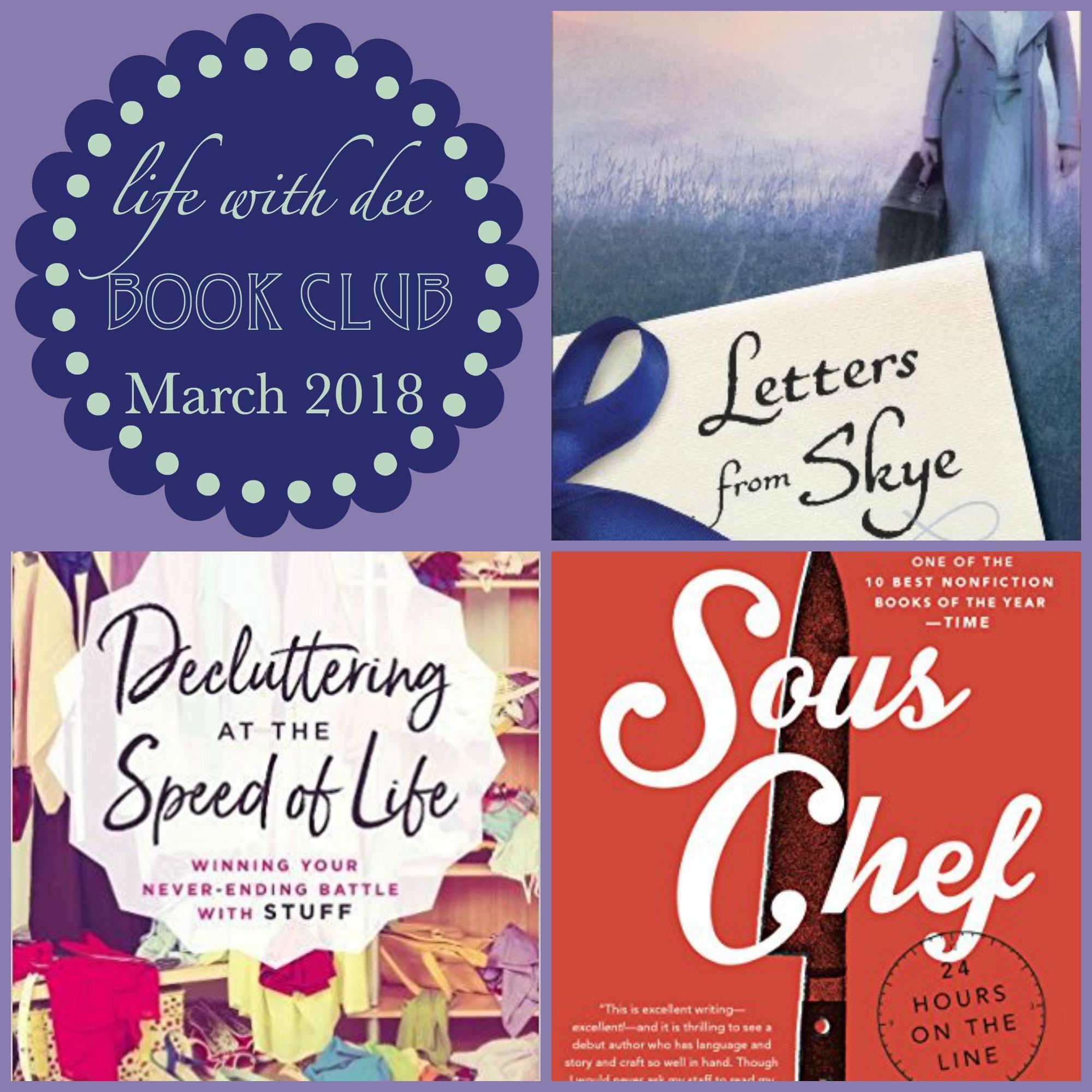 LWD Book Club March 2018
