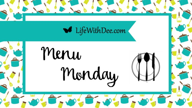 Menu Monday March 26, 2018