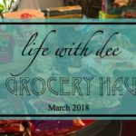 March Monthly Grocery Haul