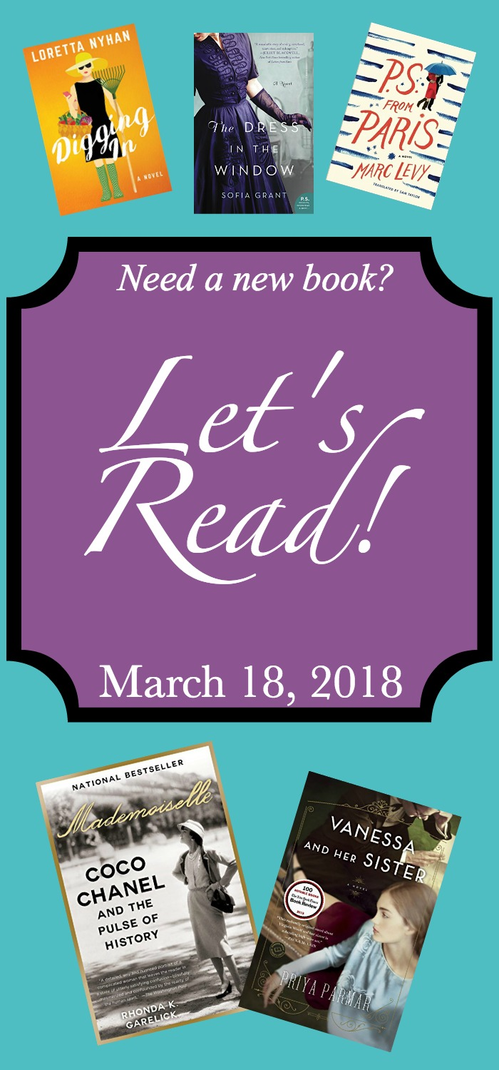 Let's Read - March 18, 2018