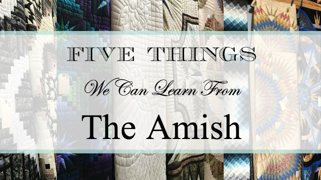 5 Things we can Learn from Amish