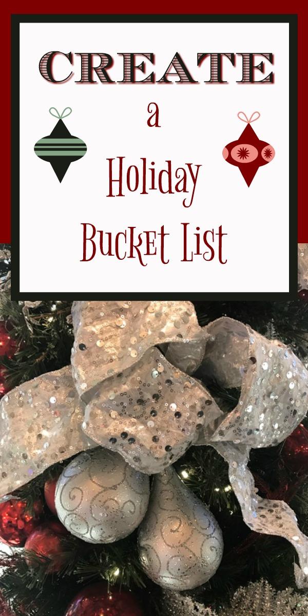 Create a Holiday Bucket List