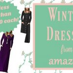 Winter Dresses From Amazon
