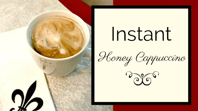 Instant Honey Cappuccino