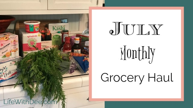 July Grocery Haul
