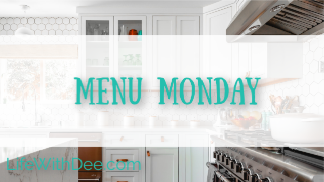 Menu Monday graphic