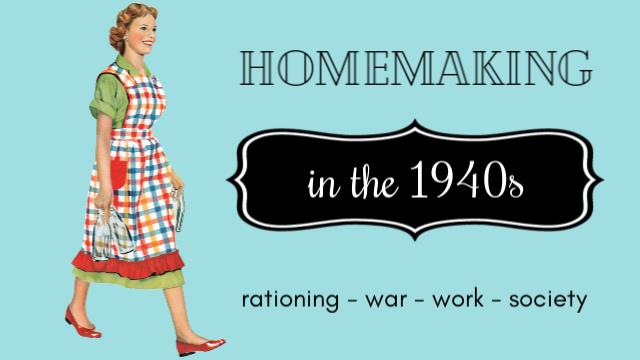 1940s homemaker