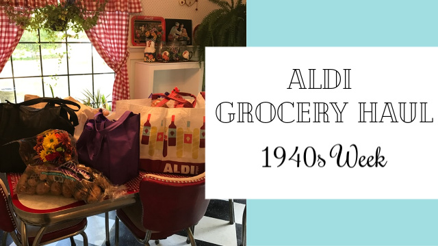 Aldi grocery haul