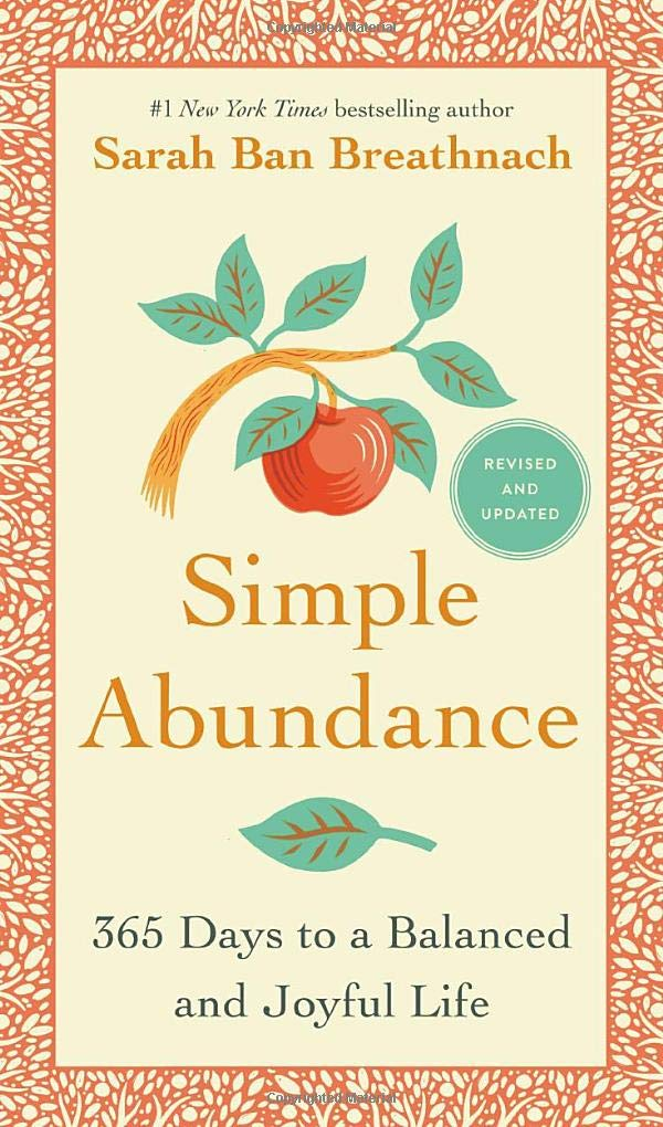 Simple Abundance book cover pic