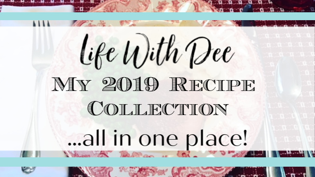 2019 recipe collection