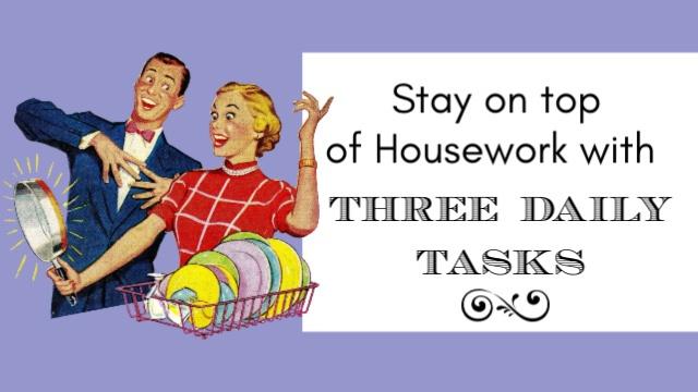 Three Daily Tasks