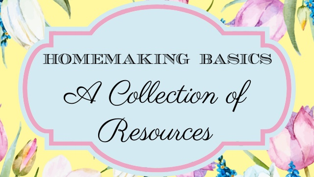 Homemaking Basics graphic