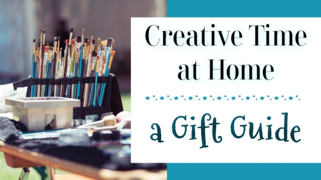 Creative gift guide graphic