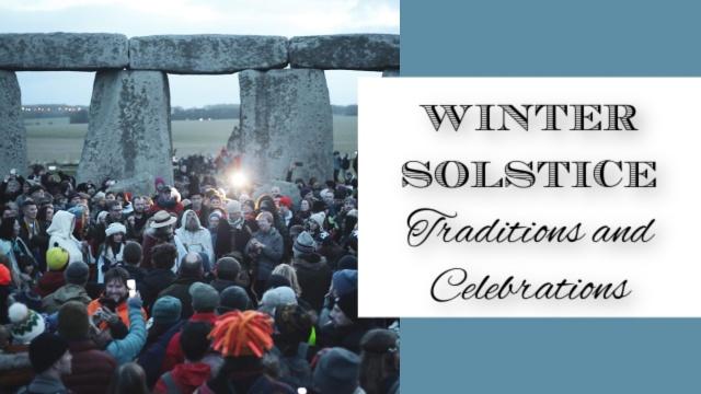 Winter solstice graphic