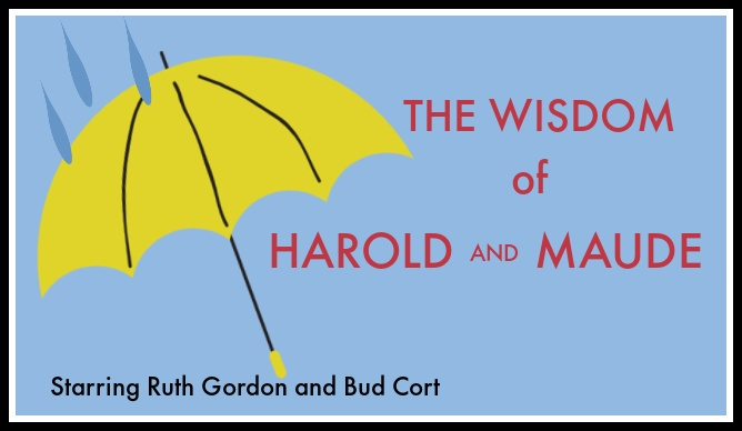 image Harold and Maude text on blue background