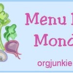 Menu Plan Monday…