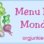 Menu Plan Monday…