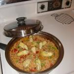 Vegetarian Paella…