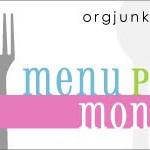 Menu Plan Monday…an abbreviated version
