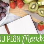 Menu Plan Monday…July 26th