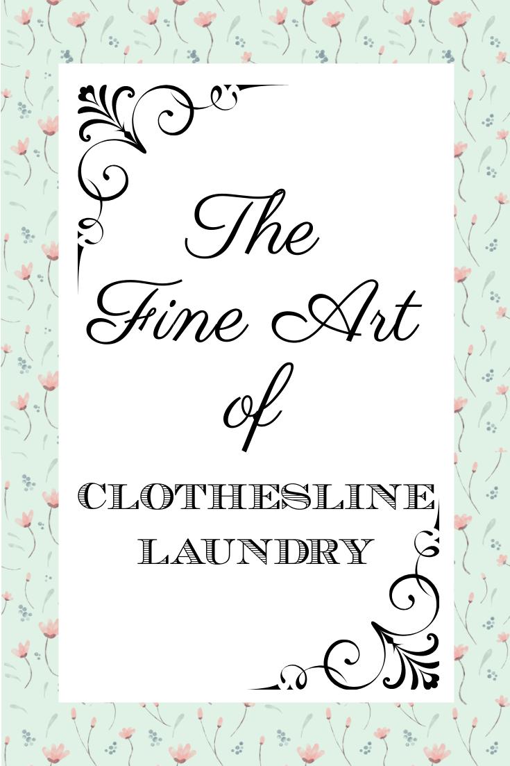 Clothesline Laundry graphic