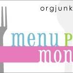 Menu Monday ~ July 23, 2012
