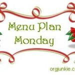 Menu Plan Monday ~December 19, 2011