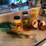Homemade bleu cheese dressing