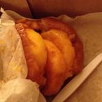 Luscious Peach Donut