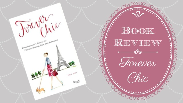 image Forever Chic Book Review text overlay
