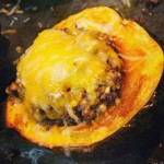 Guest Post Friday ~ Quinoa and Ground Beef Stuffed Acorn Squash
