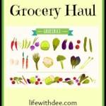 Grocery Haul ~ September 2015