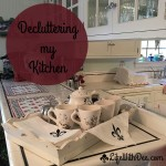 Kitchen Decluttering ~ Part 1