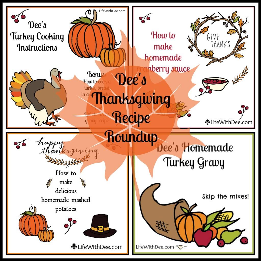 Thanksgiving Recipes Roundup