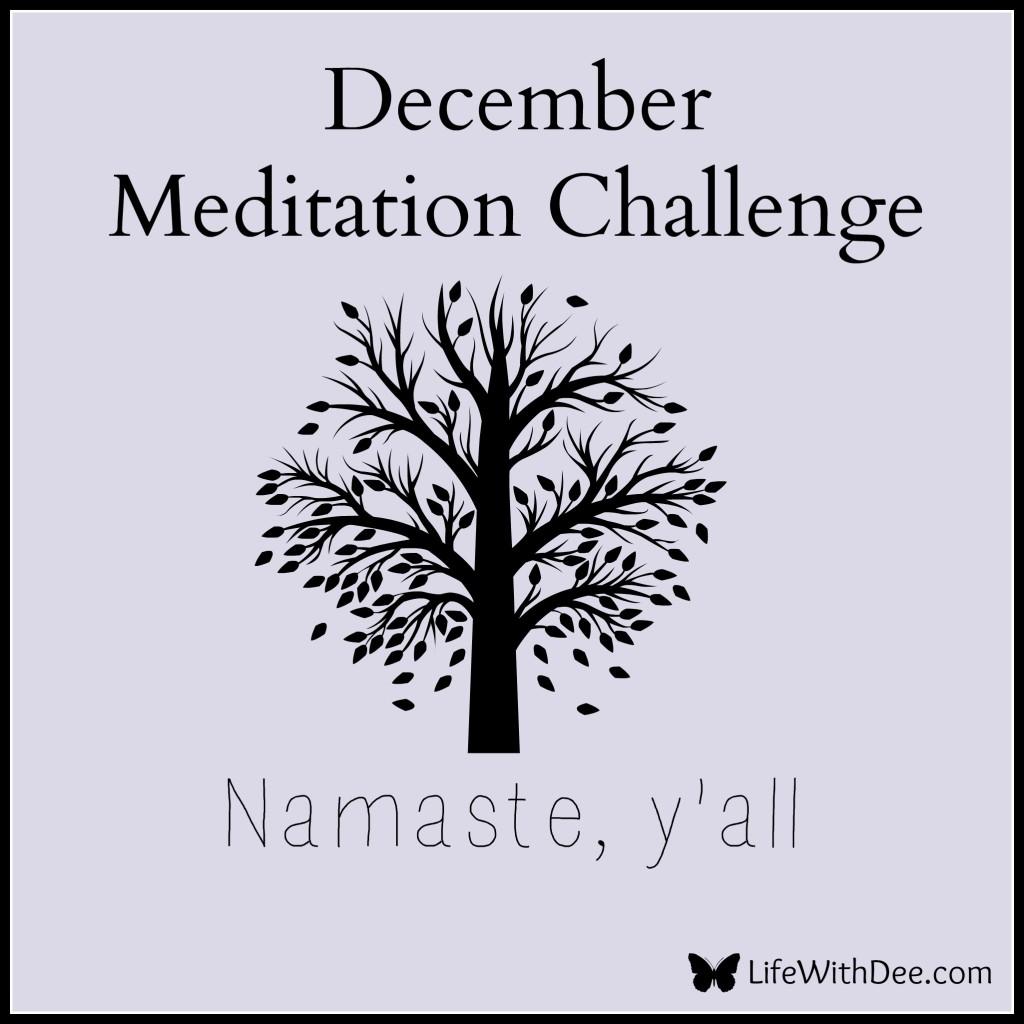 December Meditation Challenge Day 27