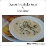 Oyster Artichoke Soup ~ by Frank Maier