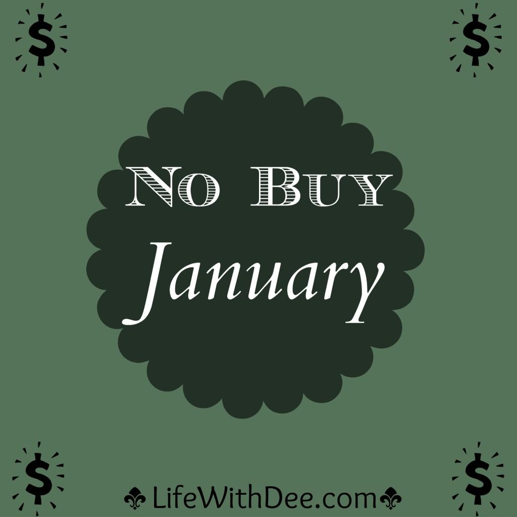 No Buy January ~ update
