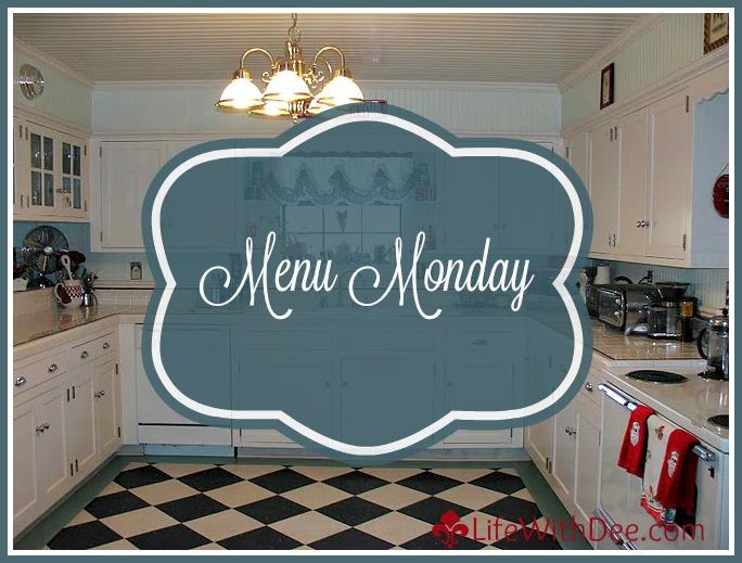 Menu Monday ~ March 14, 2014