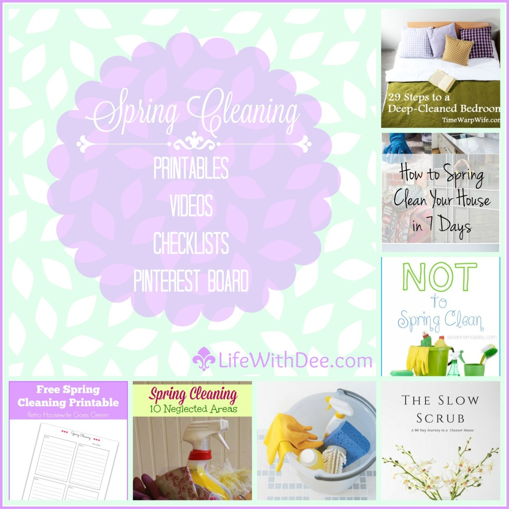 Spring Cleaning Tips and Motivation