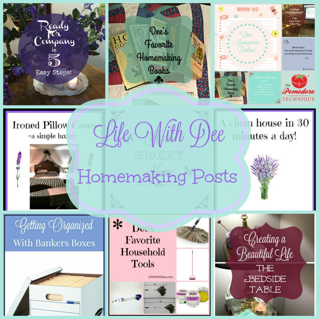 LWD Homemaking Post Collection