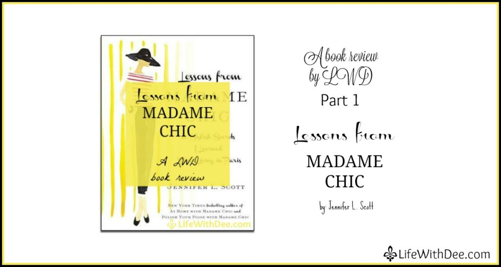 Madame Chic book review: Part 1
