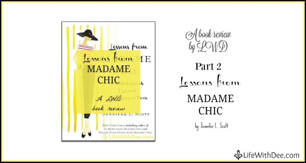 Madame Chic review Part 2