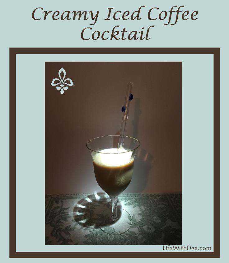 Creamy Iced Coffee Cocktail