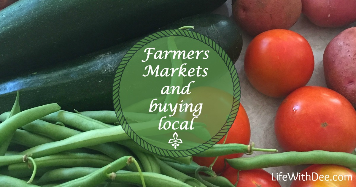 Farmers Markets and Buying Local