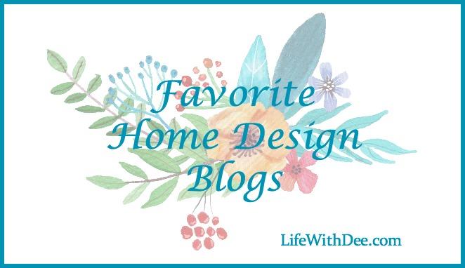 Favorite Home Design Blogs
