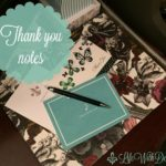 Etiquette ~ Thank You Notes