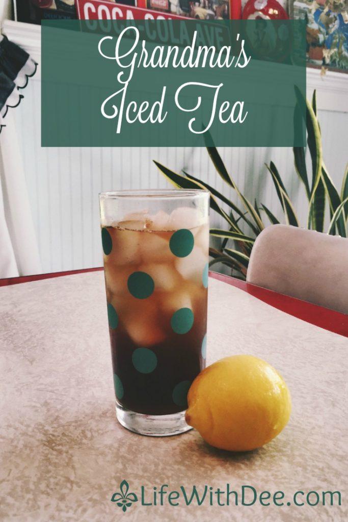 Grandma's Iced Tea
