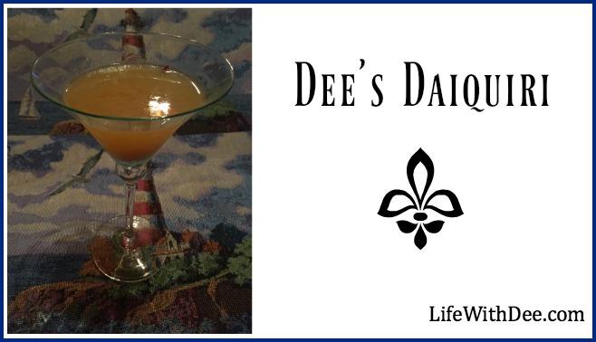 Dee's Daiquiri Recipe