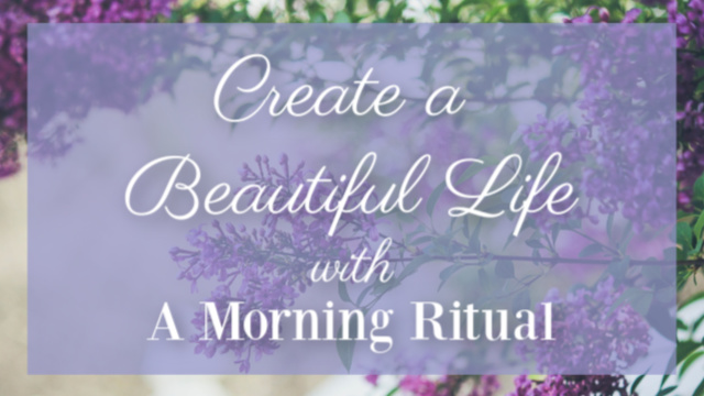 Morning Ritual graphic
